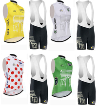 Tour The France Popular Design Ropa Ciclismo Newest Racing Jersey Cycling Maillot Apparel Biking Brace Culot Italy Ink 3DGel Pad