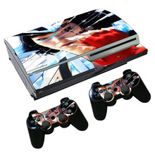 for cartoon girl video game skin sticker for PS3 Fat Console and Two Controller Decals TN-PS3-0725(China)