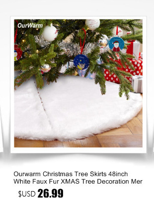 Ourwarm 18 DIY Felt Christmas Tree Pendant Drop Ornaments New Year Gift for Children Kids Door Wall Hanging Xmas Decoration 2