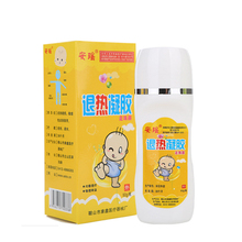 Baby cooling fever gel Antipyretic roll ball gel infant fever paste Relief headache body massage Physical Temperature Failing