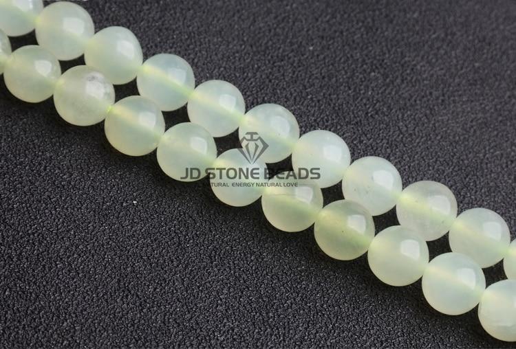 """10 mm VERT CLAIR 100/% NATURELS A JADE JADEITE perles rondes Collier 18/"""" AAA"""