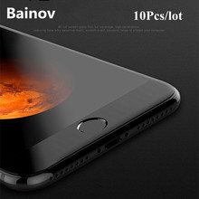 Buy 10Pcs 4D Curved Full Cover Tempered Glass iPhone 7 7Plus 8 6 6s Screen Protector Glass iPhone 6 6s Plus Tempered Glass for $19.67 in AliExpress store