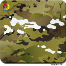 TSAUTOP Size 0.5m x 20m water transfer printing film hydrographic film camouflage TS644-1B(China)