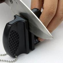 New Popular Practical Portable mini Ceramic Carbide Knife Sharpener Kitchen Blade Pocket Knives Sharpening Tool(China)
