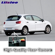 LiisLee Car Camera For SEAT Ibiza 6L 6J SC MK3 MK4 MK5 2002~2017 High Quality Rear View Back Up Camera CCD Look Backup Camera