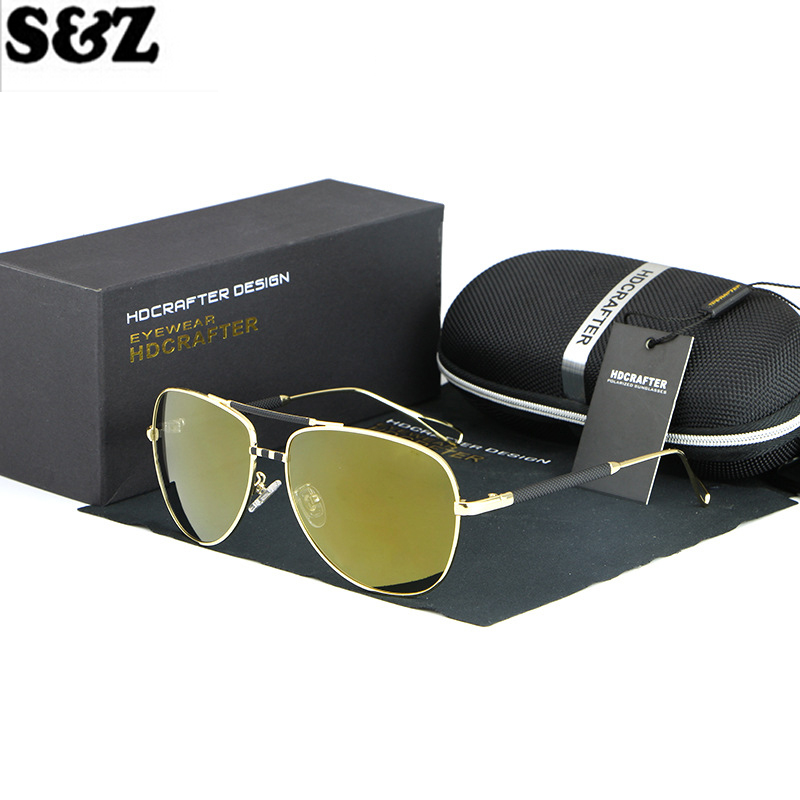 Mens polarized Sunglasses Yurt HDCRAFTER Brand Business Casual Polarizing Glasses Male Sunglasses Men Driving oculos Eyewear <br><br>Aliexpress