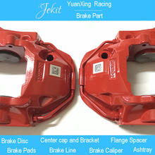 Jekit good quality Wholesale price Modified Car Brake Kit Brembo AMG Six Piston Red Brake Caliper for audi a6 front brake system(China)