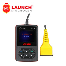 Launch CReader 419 CR419 OBD2 Code Reader with Manufacturer Specific DTCs Multilingual as Autel AL419 same Launch Creader 4001