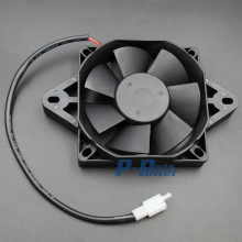 12 Volt Electric Engine Cooling Fan Radiator For Honda Kawasaki Suzuki Motorcycle ATV MX BLACK new