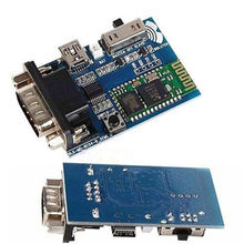 Tracking number RS232 Bluetooth Serial Adapter Communication Master-Slave 2 Modes MINI USB 5v