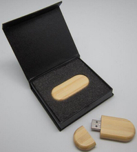 10PCS/LOT New Custom DIY LOGO Gift box  +wooden bean usb 2.0 memory flash (24 hours processing logo.Quickly Delivery)