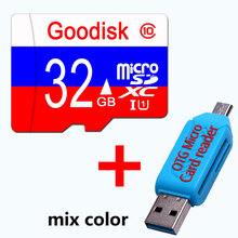 Goodisk Micro SD Card 4GB 8GB class 6 mini sd card 16 GB 32GB 64GB Class 10 Memory Card Flash Memory for cell Phones + GIFT(China)