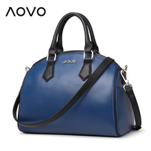 Best Mother's Gift REAL Genuine cow leather women handbags Specially middle-aged women's Shell bags Business Briefcase(China)