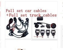 New arrical cdp pro cables VD TCS cdp 8 car cables +8 truck cables full set with lowest price  shipping