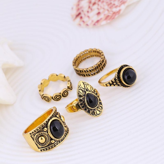 Docona-5-pcs-Set-Vintage-Retro-Carving-Antique-Gold-Color-With-Black-Stone-Rings-Sets-for.jpg_640x640 (1)
