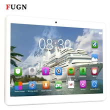 FUGN 10 inch 1920x1080 4g LTE 3g 2SIM Phone Calling Tablet PC Octa Core Bluetooth WIFI Android 4GB+64GB Kids Portable Netbook