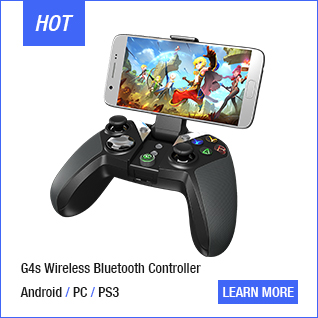 Gamesir G3w Wired Gamepad Controller Dual Vibration Controller For Android Smart phone for TV Box For Windows PC Optional Holder