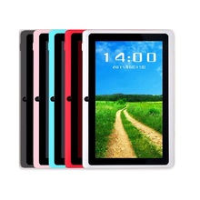 Discount!! 7Inch 1024x600 HD Tablet Allwinner A33 Quad-core 8G Memory Google Play Store Bluetooth WIFI Android 4.4 PC for Kid