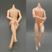 26cm Moveable 9 Jointed Doll Body For Barbie's Boyfriend Ken Male MAN Naked Body Prince Ken Nude Doll DIY Children Toys