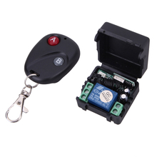 Wireless Remote Control Switch DC12V 10A 433MHz Transmitter Receiver Widely use in house/mall electromobile/cars/motorcycle