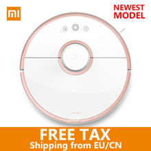 xiaomi mi robot vacuum cleaner 2 Automatic Sweeping Dust WIFI APP Control Wet drag mop Smart Planned with water tank 5200mAh(China)