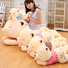 Huge Stuffed Animal Giant Teddy Bears Pluche Stuffe Speelgoed Girls Gifts Birthday Kawaii Sleeping Bear Toy Plush Doll 70C0415