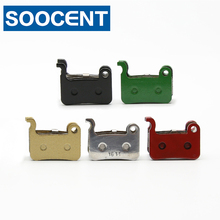 4 Pairs Bicycle Brake Pads for Shimano XTR M975 966 965 XT M776 M775 M765 SLX M665 LX M585 DEORE M596 595 535 ALFINE SAINT M800(China)