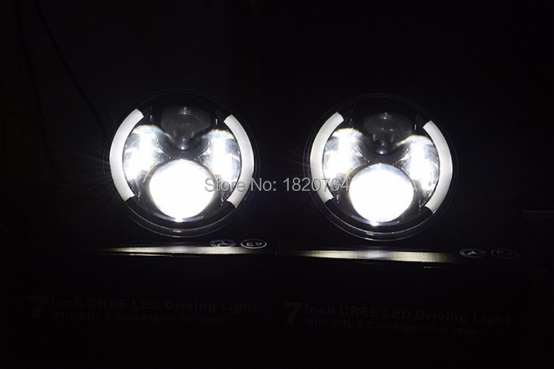 7 inch Round LED Headlight 11