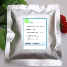100g(3.52oz) 100% Natural Lei Gong Teng Extract Tripterygium Wilfordii Extract Powder Thunder God Vine Extract(China)