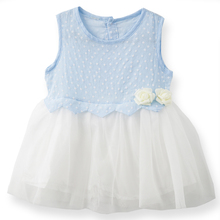 Clearance Baby Girls Summer Tutu Dress Cotton Voile Flower Princess Dresses Fashion Kids Clothes Vestido Infantil Roupas Menina(China)