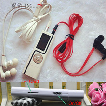 Portable mini digital MP3 Player USB Clip OLED couples mp3 Support Micro TF/SD Card double earphones sport mp3 Music players O2