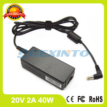 20V 2A 40W laptop ac adapter charger PA-1400-12LC for Advent Milano Elite Netbook N270 w7 One mini A570 Minis XPS3 Zuni