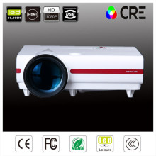 Wholesale 3500Iumens LCD projector,full hd projector for home theater,school with excellent display effects(China)