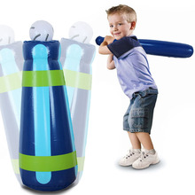 High Quality Inflatable Baseball Tumbler Set Kids Toy Outdoor Game Baseball Training Toys Inflate Games Children Birthday Gifts