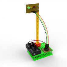 Small traffic light / assembled model toys /diy scientific experiments for schoolchildren