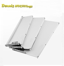 1Pair/LOT H118mm Metal Box Metabox Single Wall Drawer Slide Runners Rail Kitchen Bath Furniture Cabinet(China)