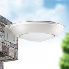 Led Garden Solar Light Outdoor Landscape Courtyard Radar Induction LED Street Wall Lamp Outdoor Home Garden Solar Exterior Panel(China)