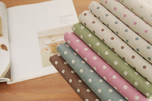 FABRIC Patchwork cloth learnning Printing Pattern table Natural Cotton Linen Fabric Quilting Patchwork Sewing Textile Multi