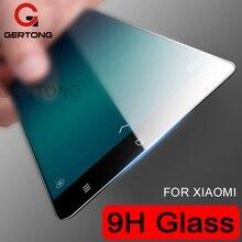 GerTong 9H Full Cover Tempered Glass Xiaomi Mi6 Mi5 Mi5S Plus Mi5X Mi A1 Mi5C Colorful Screen Protector Toughened Glass Film