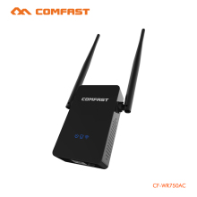 COMFAST 5G Wifi Amplifier 750Mbps Dual Band Wifi Repeater Signal Booster Wireless Router Repeater AP English Firmware CF-WR750AC(China)