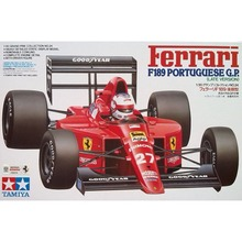 OHS Tamiya 20024 1/20 F189 Portuguese GP Late Version F1 Racing Car Scale Assembly Car Model Building Kits(China)