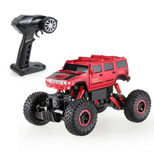 6005-1 2.4GHz 4WD 1/16 Hummer Fast Speed RTR Rock Crawler RC Car