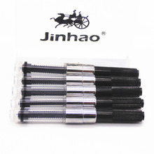 JINHAO 5pcs Black fountain Pen Ink Converter Ink Reservoir New Suitable for all types of my shop and market(China)