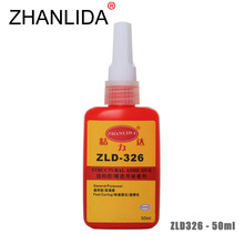 ZHANLIDA 326 50ML Structural Glue High Strength Fast Curing Glue Steel Metal Plastic Multi Purpose Anaerobic Adhesive