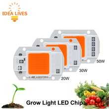 Led Grow Light Chip Hydroponice AC 220V 20W 30W 50W For Indoor Garden DIY Growth And Bloom