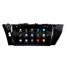 NaviTopia Brand New 10.1inch Quad Core Android 6.0 Car PC For Toyota Corolla(2014-2016) Car Audio Player With GPS Navigation(China)
