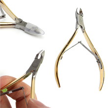 Nail Art Plier Clipper Tool Cuticle Manicure Scissor Stainless Steel Nipper Cutter for Trim Dead Skin and Hangnail M02447