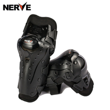 Motocross Protection Gear Knee Pads Motorcycle Extreme Sports Equipamento Leg Brace Protector Guard Moto Slider Kneepad Elbow(China)