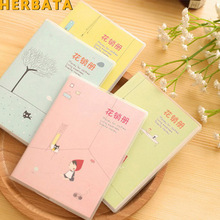 13.1x9.3cm 1 PC New Fashion Notebook Creative Notepad Business Diary Office Student Portable Note book Creative Recording