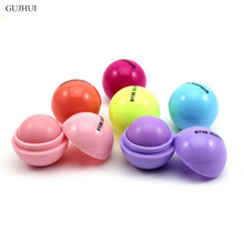 Cute Anti-cracking Moisturizing Lip Cream Natural Plant Sphere Lip Balm Man Women Good Quality(China)